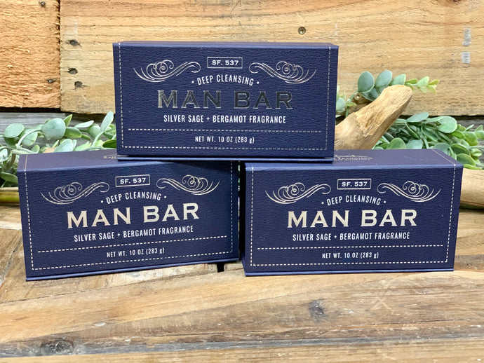 Man Bar Silver Sage & Bergamont Men's Bar