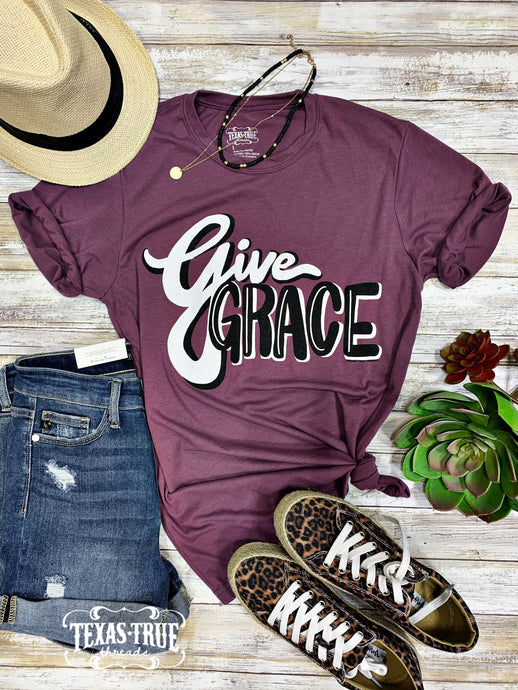 Give Grace Graphic Tee