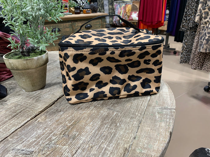 Wild Side Leopard Makeup Bag