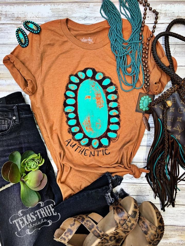 Authentic Tee By Texas True Threads Graphic Tees  Texas True Threads - Horse Creek Boutique