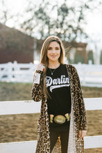 Darlin' on Black by Texas True Threads Graphic Tees  Horse Creek Boutique - Horse Creek Boutique
