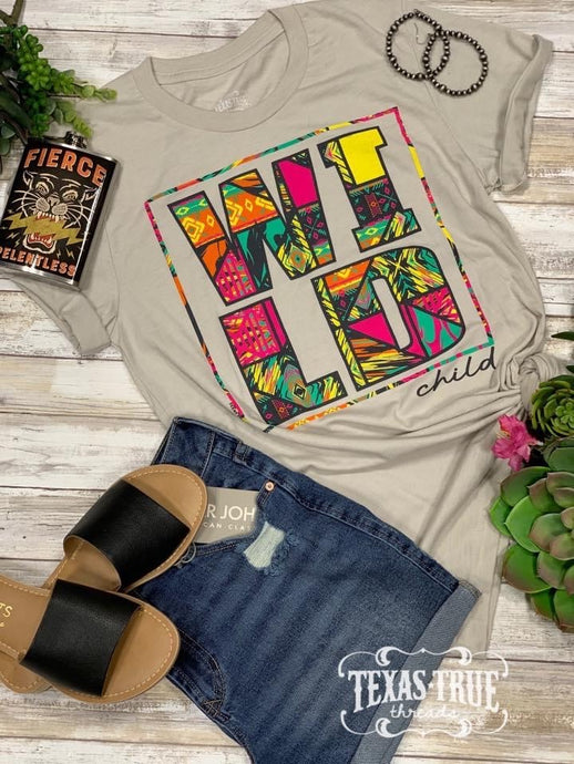 Wild Child Graphic Tees  Texas True Threads - Horse Creek Boutique