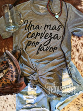 Uno Mas Cerveza by Texas True Threads Graphic Tees - Horse Creek Boutique
