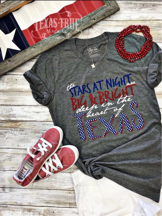 Deep in the Heart by Texas True Threads Graphic Tees  Texas True Threads - Horse Creek Boutique