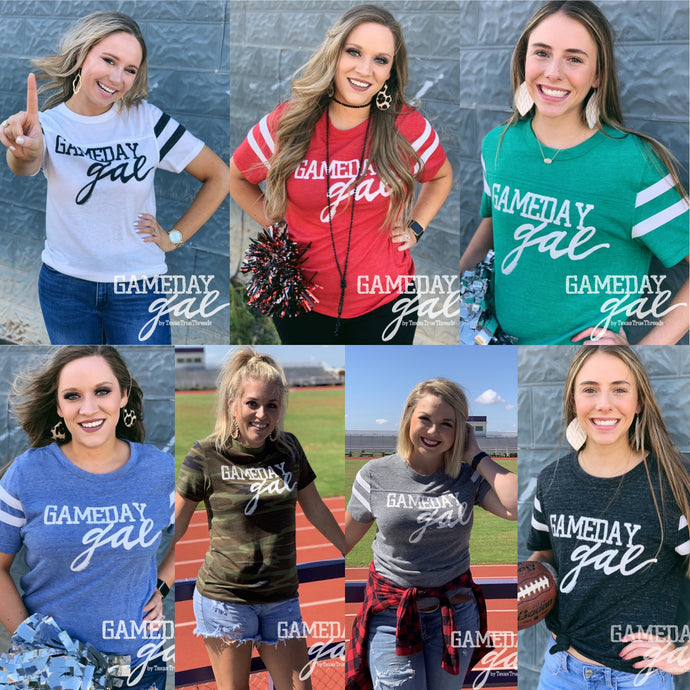 GameDay Gal Varsity Tee Graphic Tees  Texas True Threads - Horse Creek Boutique