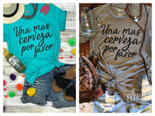 Una Mas Cerveza by Texas True Threads Graphic Tees  Texas True Threads - Horse Creek Boutique
