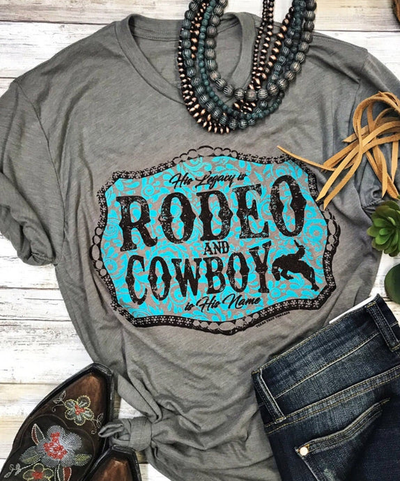 Rodeo Cowboy by Texas True Threads Graphic Tees  Texas True Threads - Horse Creek Boutique