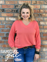 Mel Wavy Top by GameDay Gal Tops  Texas True Threads - Horse Creek Boutique