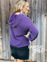 Shelby Wavy Hoodie by GameDay Gal Hoodies  Texas True Threads - Horse Creek Boutique