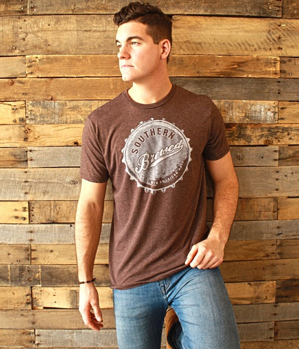 Southern Brewed - Mason Jar t-shirt  Mason Jar - Horse Creek Boutique