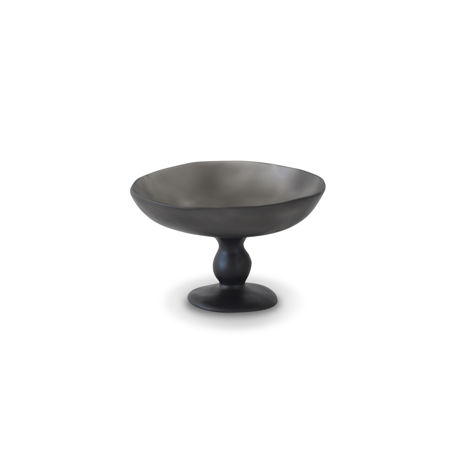 Resin Pedestal Bowl, Large