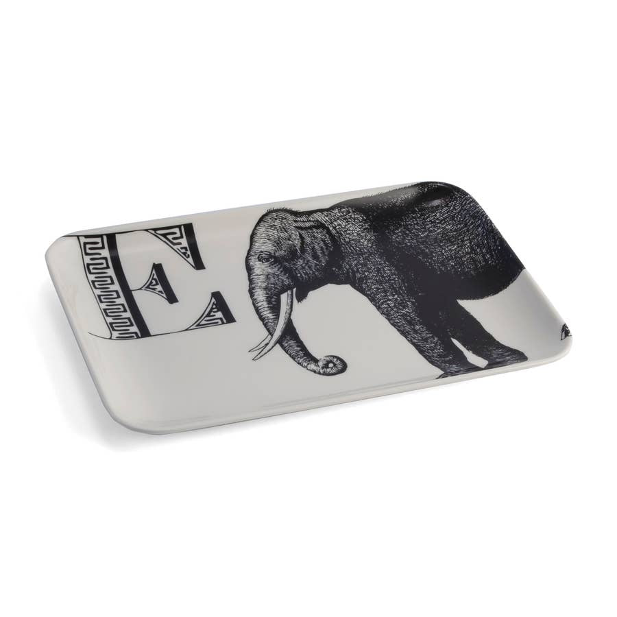 Alphabet Tray, E Elephant