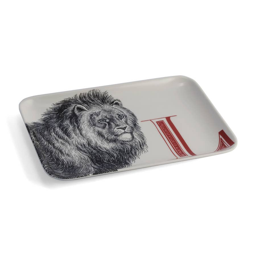 Alphabet Tray, L Lion