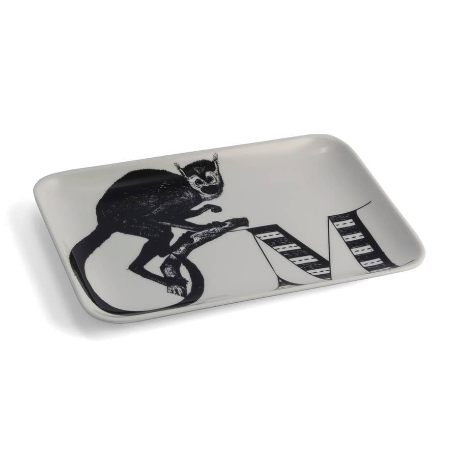 Alphabet Tray, M Monkey