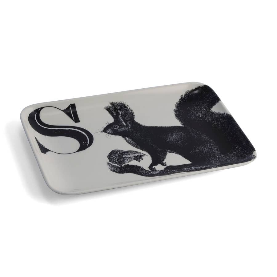 Alphabet Tray, S Squirrel
