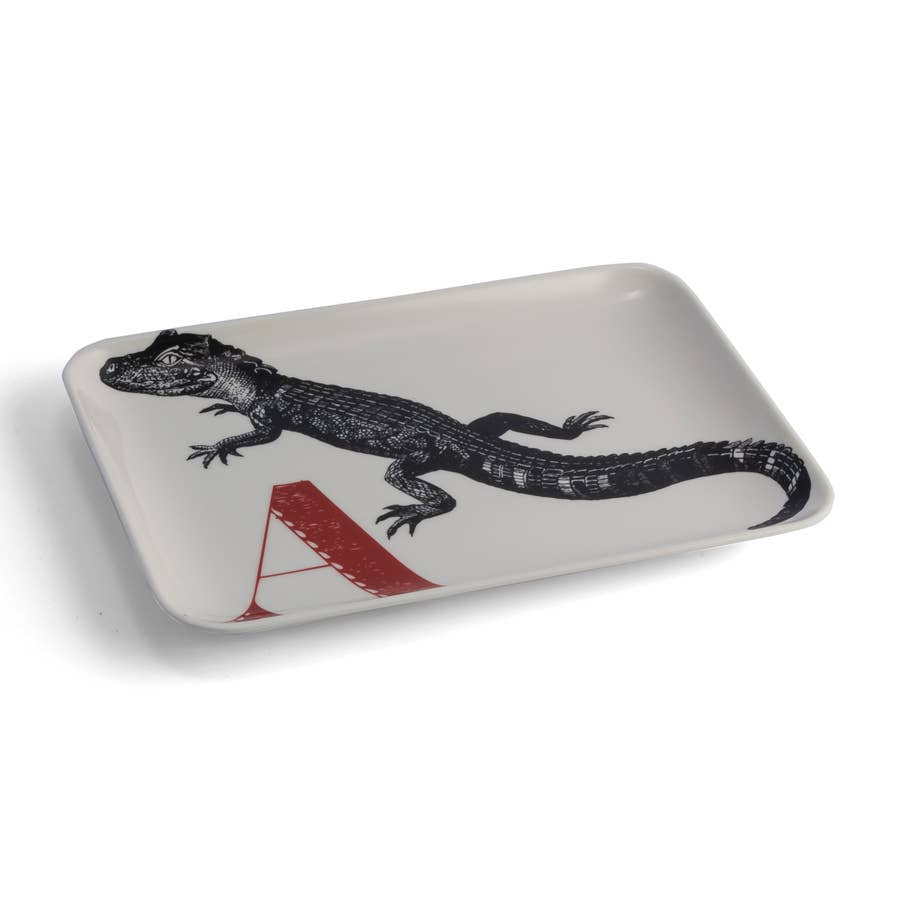 Alphabet Tray, A Alligator