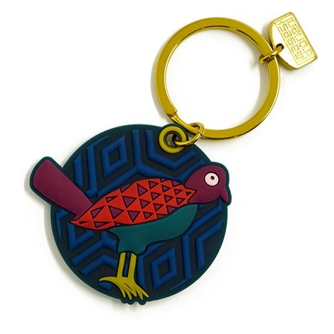 Birds Of Paradise Keyring