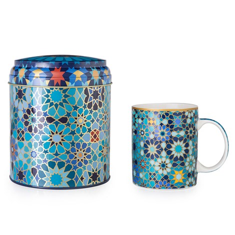 Moucharabieh Tin Box, Coffee Mug