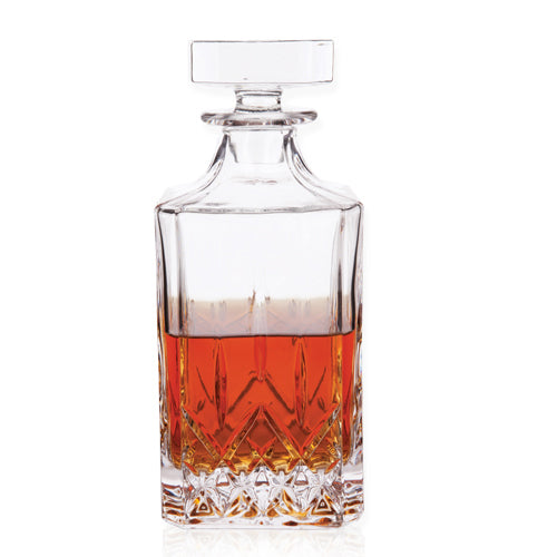 Cut-Glass Liquor Decanter