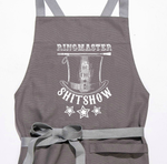 Ringmaster Of The Shitshow Apron