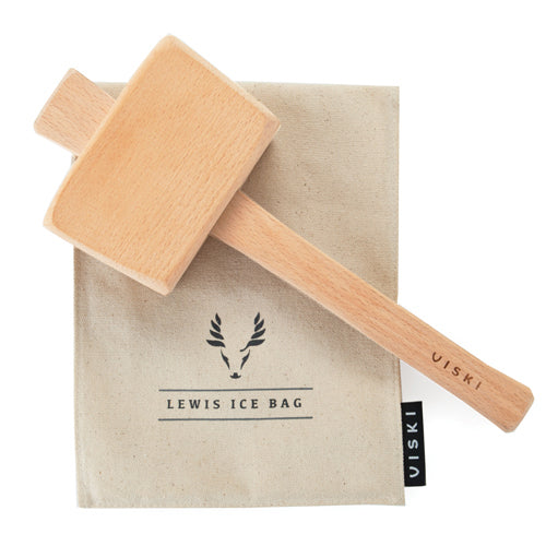 Lewis Ice Bag & Mallet