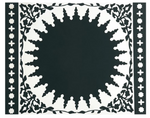 Mosaic Black Placemat