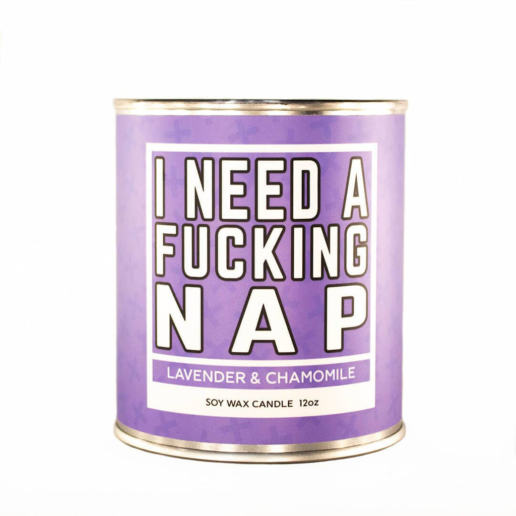 I Need A Fucking Nap Candle