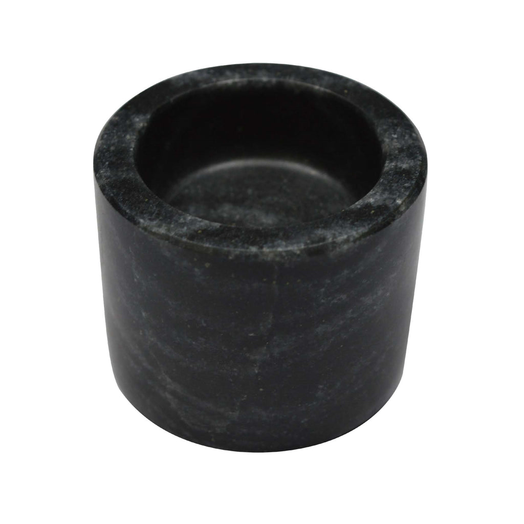 Marble Votive Holder, Black