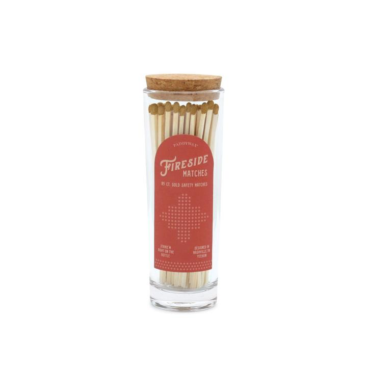 Fireside Safety Matches, Gold