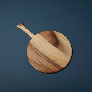 Acacia Serving Board, Round Handle