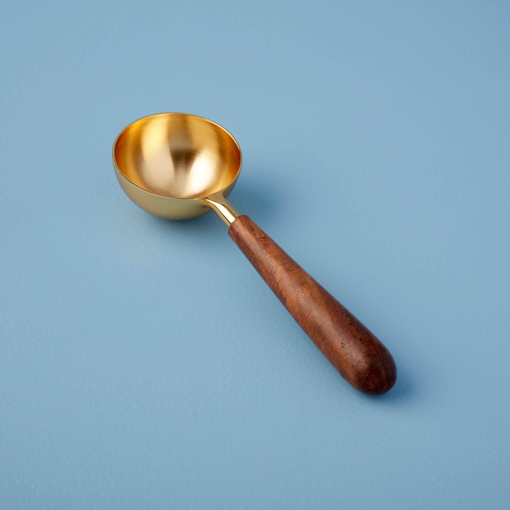 Gold Wood Scoop