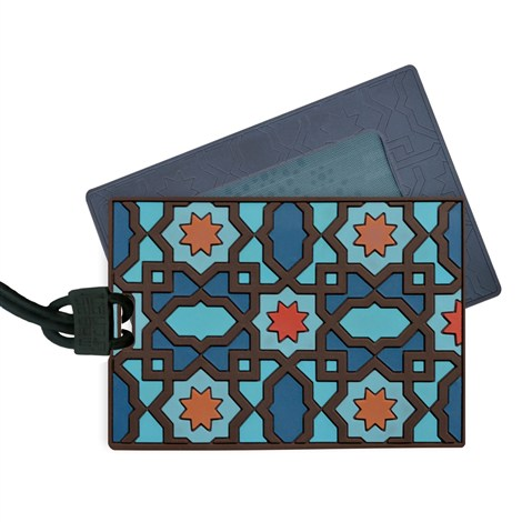 Moucharabieh Luggage Tag