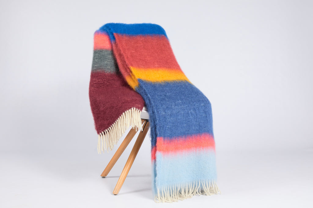 Matisse Mohair Throw, M-11
