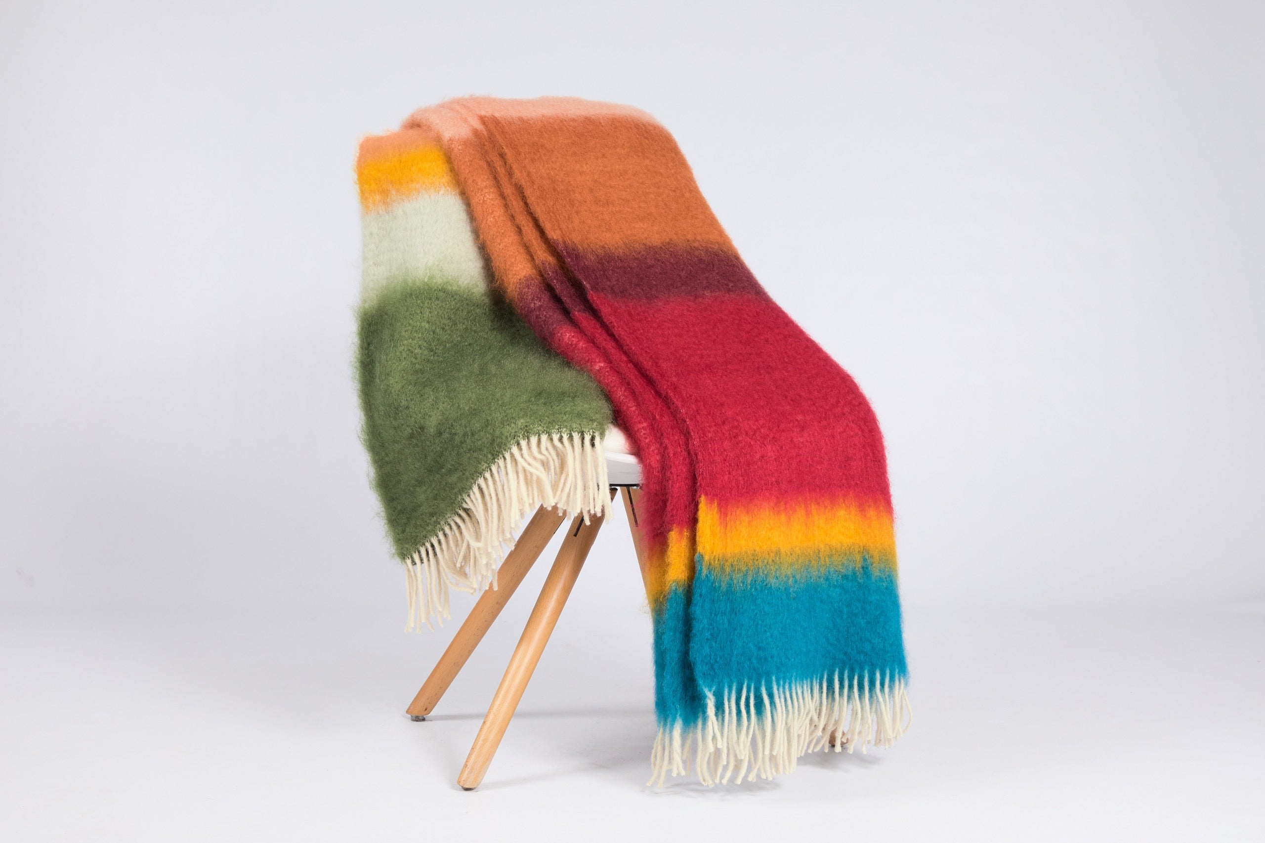 Matisse Mohair Throw, M-12