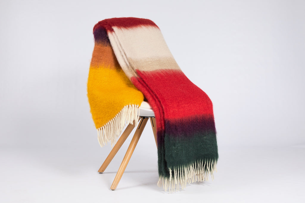 Matisse Mohair Throw, M-14
