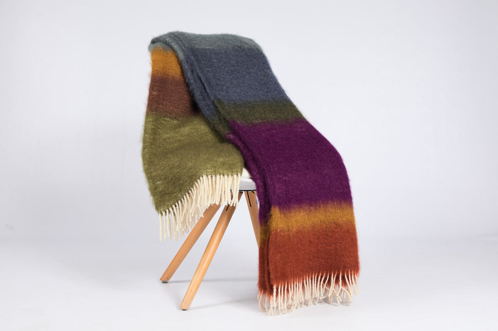 Matisse Mohair Throw, M-15