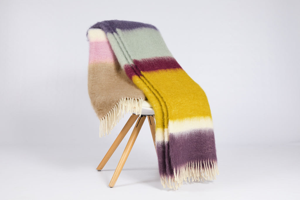 Matisse Mohair Throw, M-18