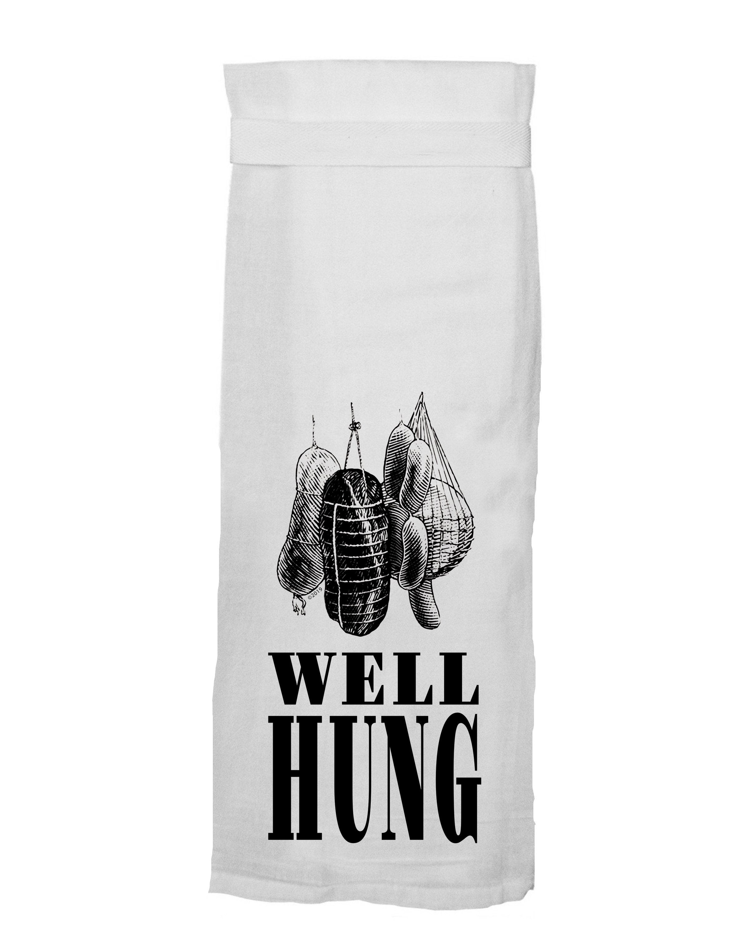 Well Hung Tea Towel