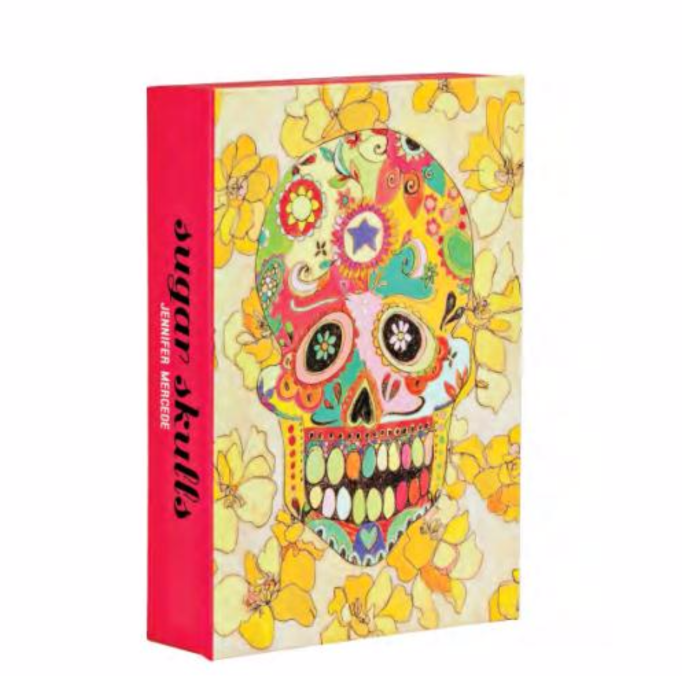 Sugar Skulls Notecard Box