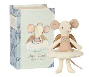Angel Mouse In Book, Angel Stories