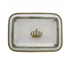 Glass Crown Tray
