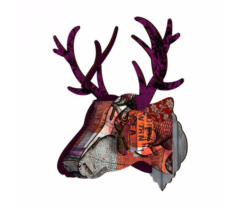 "Trophy Deer ""Purple Branch"""