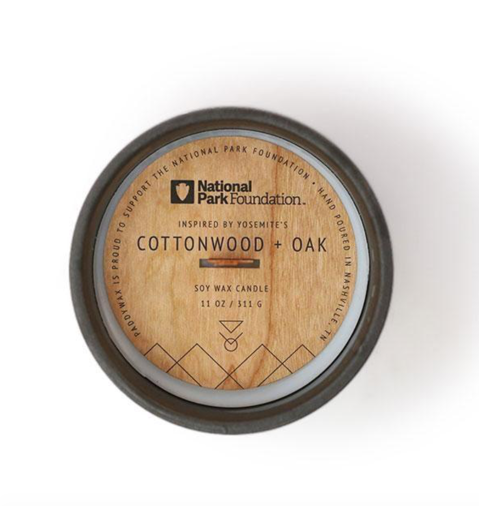 Cottonwood & Oak Parks Candle
