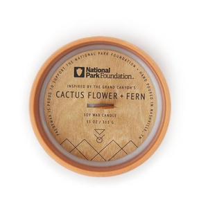 Cactus Flower & Fern Parks Candle