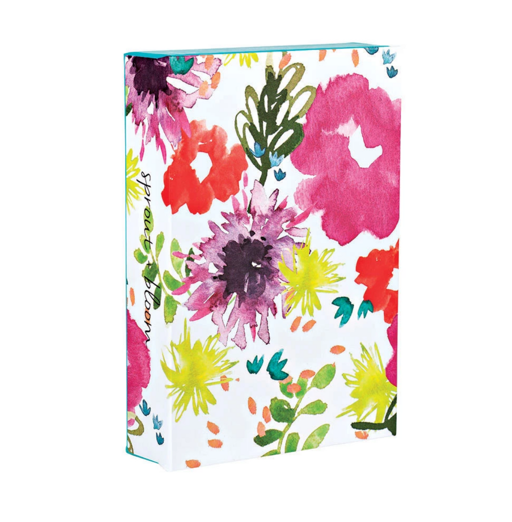 Sprout + Bloom Fliptop Notecard Box