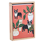 Dogs 'N' Plants Luxe Notecard Box