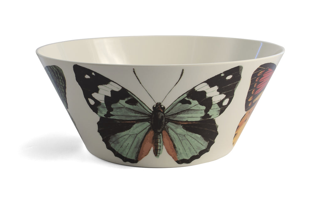 Metamorphosis Butterfly Large Bowl, Melamime