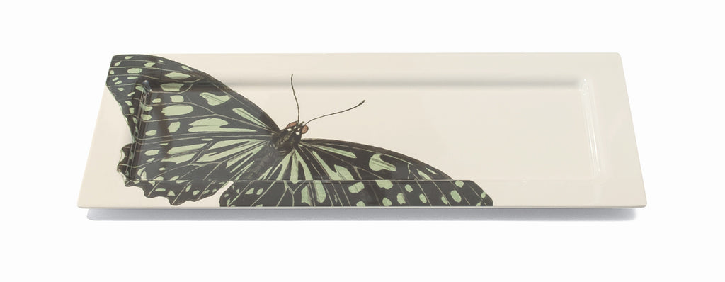 Metamorphosis Butterfly Oversized Tray, Melamime