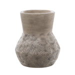 Zaire Ceramic Vase, Grey