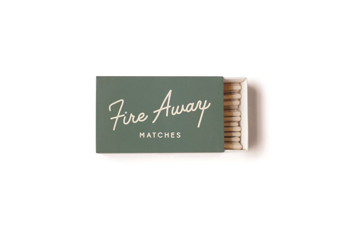 Safety Matches, Fire Away